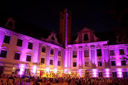 Veranstaltungsort der Konzerte im Fronhof